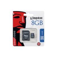 KINGSTON 8GB - MICROSDHC CLASS 4 FLASH CARD