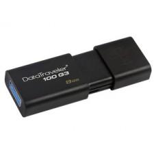 Kingston 8gb Usb 3.0 Datatraveler 100 G3 Negro