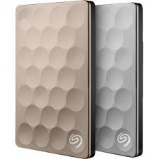 Seagate Disco Duro Externo Ultra Slim -  1 TB Externo - USB 3.0 - Platino