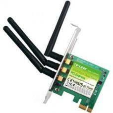 TP-LINK ADAPTADOR WIFI PCI EXPRESS 450 Mbit/s 802.11N - 3 ANTENAS- INTERNO