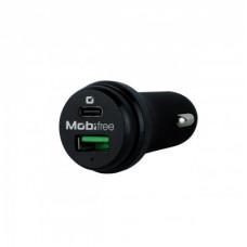 Mobifree Cargador de Coche USB y Tipo C Cargador