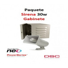 DSC DSC1190011 Paquete Sirena Exterior