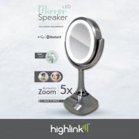 Highlink 7500462951559 Espejo Led con Bocina