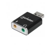 MANHATTAN 152754 Convertidor USB  a audio