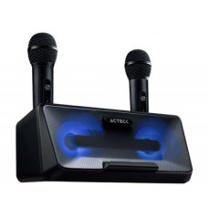 ACTECK AC-926935 Bocina Sistema de Entretenimiento Karaoke