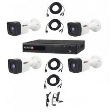 PROVISION-ISR PAK720PX4 Kit de Video Vigilancia