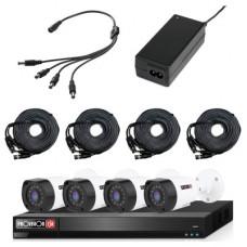 PROVISION-ISR KIT-2MP-8X4-FREE-CABLE Kit de video vigilancia