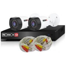 PROVISION-ISR PR-2AHD-CC Kit de Video Vigilancia