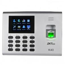 ZK TECO ZK -K40 Control de Tiempo y Asistencia