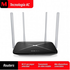 MERCUSYS Inalámbrico  AC1200, 1200 Mbps Router