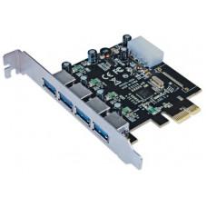 MANHATTAN 152891 Tarjeta PCI Express USB